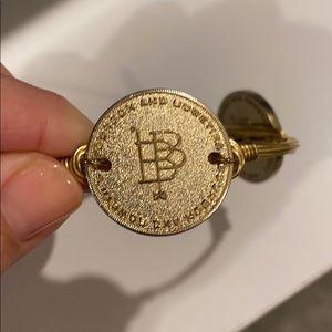 Bourbon & Boweties Signature coin bangle bracelet